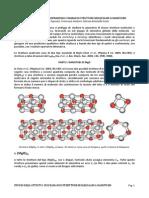 studio di attività infrarossa e raman di strutture a nanotubo