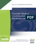 Cuadro básico y catálogo de medicamentos