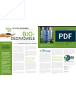 Biodegradable Plastic Bottles Case Study