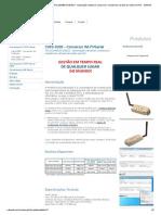CWS-0200 - Conversor WI-FI_Serial - RS-232_485 MODBUS - Automação industrial, comercial e residencial, através de redes sem fio! - Safesoft