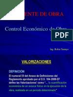 Control Economico de Obra