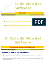 El Ciclo de Vida Del Software