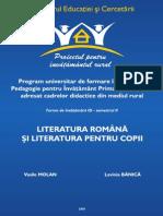 123999231 Literatura Romana Si Literatura Pentru Copii
