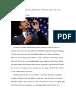 Don't Scapegoat President Obama for Sick, Addictive Economy
