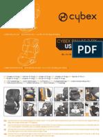 Инструкция для Cybex Pallas 2-Fix (User Guide)