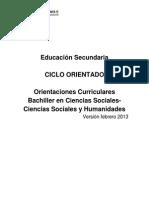 c.o Ciencias Sociales Febrero 2013