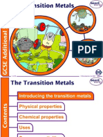 Transition Metals for Class