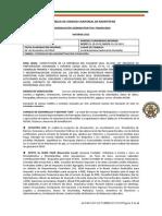 INFORME COORDINACIÓN ADMINISTRATIVA-FINANCIERA AUCM Octubre 2013