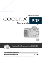 Manual de utilizare aparat foto Nikon L320