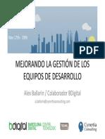 CMMI - Mejora del desarrollo software. Calidad Barcelona.