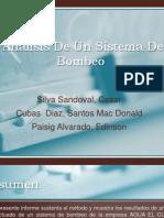 Análisis De Un Sistema De Bombeo DIAPO