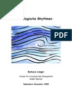 Biologische Rhythmen Barbara Liniger