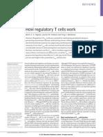 Mecanismo Efectores Celulas Reguladoras