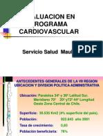 Factores de Riesgo Cardiovascular y Kinesiologia