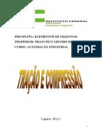 Apostila sobre resistência - Tração e Compressão - A.I.