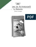 Programa de Actividades La-Balserita