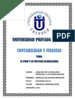 El Peru y La Politica Globalizada