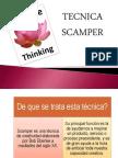 Tecnica Scamper