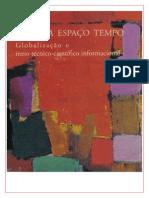Milton Santos - Tecnica, Espaço e Tempo