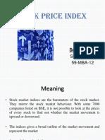 Stock Price Index