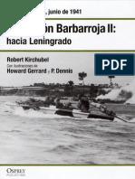 07.- Operación Barbarroja II hacia Leningrado - Rusia, junio de 1941