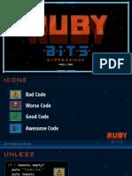Ruby Bits Slides