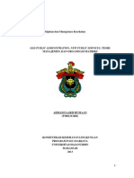 Download Pengertian Old Public Administrartin New Public Service by Rendra Ismayanto SN182911010 doc pdf
