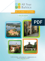 Tour Lituania y Letonia (Operador Turístico ALL YEAR BALTICS)