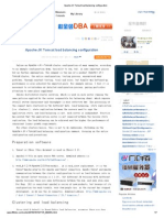 Apache JK Tomcat load balancing configuration.pdf