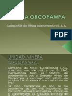 MINA ORCOPAMPA Metodo de Explotacion