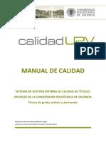 Manual de Calidad UV