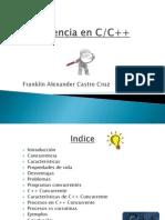 Concurrencia en C++Presentación