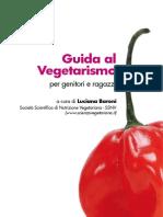 Guida al Vegetarismo per genitori e ragazzi.