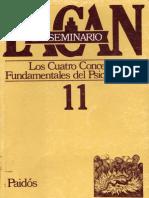 Jacques Lacan - Seminario 11 - Los Cuatro Conceptos Fundamentales del Psicoanálisis