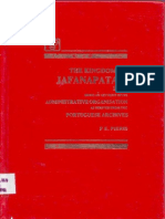 The Kingdom Of Jafanapatam 1645 Being An Account Of Its Administrative Organisation As Derived From The Portuguese Archives, P. E. Pieris