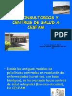 De Consultorios y Centros de Salud a Cesfam Funcionamiento de Un Ces y Cesfam