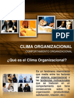 Clima Organizacional I