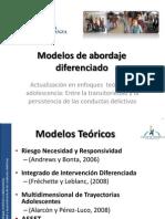10. Modelos de Abordaje Diferenciado