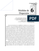 Dispersion Agrupados y No Agrupados
