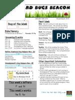 November 8 Newsletter
