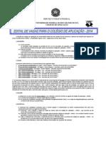 APLICAÇÃO - EDITAL DE INGRESSO 2014-1