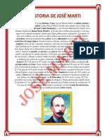 La Historia de José Marti