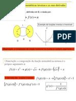 As Funcoes Trigonometricas Inversas e as Suas Derivadas