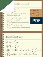 a integral e a sua relação com a derivada