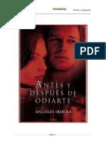 Antes y después de odiarte, Ángeles Ibirika.doc