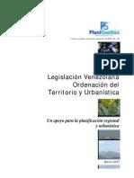 Listado Legislacion Ord. Territorio y Urbanistica
