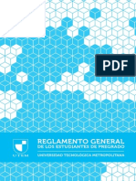 Reglamento Estudiantil UTEM 2013