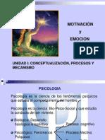 La Motivacion y Procesos 2013