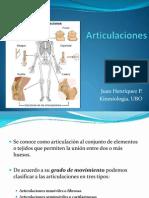 Clase Nº 1 Articulaciones Anatomía Kine