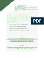 Instrucciones y Recomendaciones